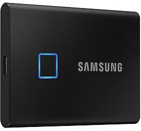 SSD 2TB Samsung externí T7 Touch, černý (MU-PC2T0K/WW) - Samsung