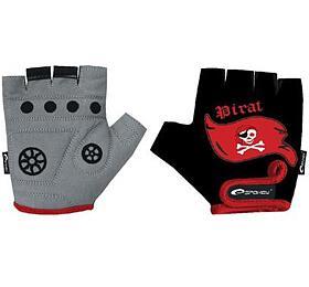 Spokey PIRATE GLOVE Dětské cyklistické rukavice XXS (15,5 cm) - Spokey