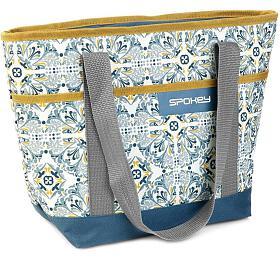 Spokey ACAPULCO Termo taška malá, retro, 39 x 15 x 27 cm - Spokey