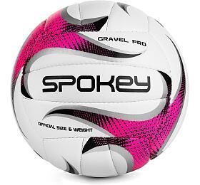 Spokey GRAVEL PRO Volejbalový míč růžový vel. 5 - Spokey