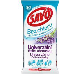 Univerzální čisticí ubrousky Savo Levandule - Savo