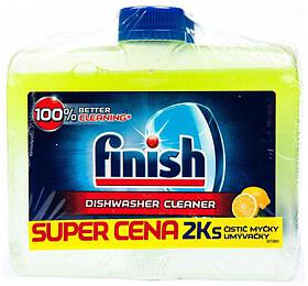 Čistič pro myčky Finish Lemon 2x250ml - Finish