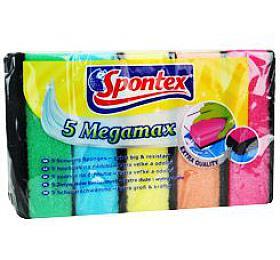 Houba na nádobí Spontex 5 MegaMax PU 5ks - Ostatní