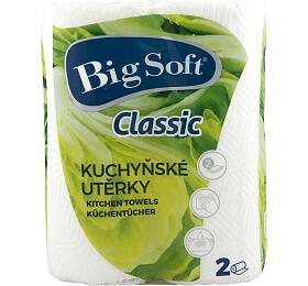 Utěrky kuchyňské papírové Big Soft 2ks - Ostatní