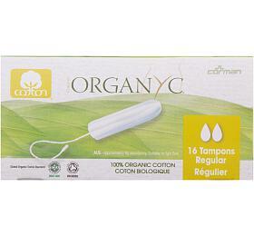 Tampony regular16 ks BIO bavlna ORGANYC - Organyc