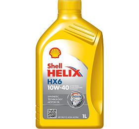 Motorový olej HX6 10W-40 1L SHELL - Shell