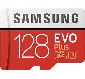 Paměťová karta Samsung EVO Plus Micro SDXC 128GB + SD adaptér (MB-MC128HA/EU) - Samsung