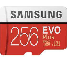 Micro SDXC 256GB Samsung EVO Plus + SD adaptér (MB-MC256HA/EU) - Samsung