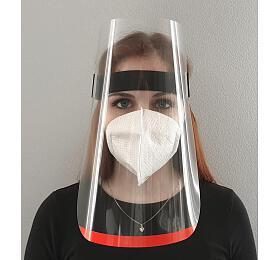 Ochranný obličejový štít Diametral 260 x 250 mm - Diametral