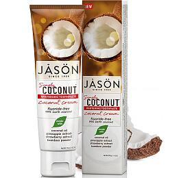 Zubní pasta simply coconut bělicí 119 g JASON - Jason