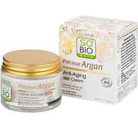 Krém denní 50 ml BIO Anti-age Precieux Argan SO'BiO étic - So Bio