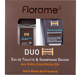 Dárková sada pro muže Florame (toaletní voda 100 ml a sprchový gel 200 ml) - Florame