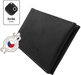 Chytrá peněženka FIXED Smile Wallet, černá - FIXED