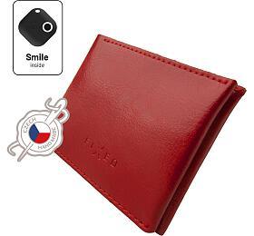 Chytrá peněženka FIXED Smile Wallet, červená - FIXED