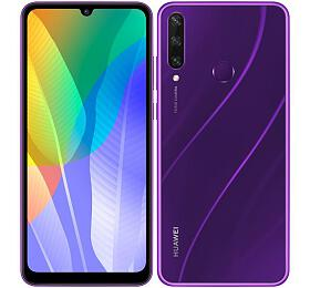 Mobilní telefon Huawei Y6P 3GB/64GB, Phantom Purple - HUAWEI