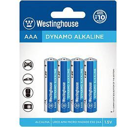 Baterie LR3 Westinghouse AAA Dynamo Alkaline 1,5V bl.4ks - Westinghouse