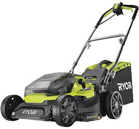 Ryobi RY18LMH37A-250, aku 18 V hybridní sekačka 37 cm + 2x 5Ah baterie + nabíječka ONE+ - Ryobi