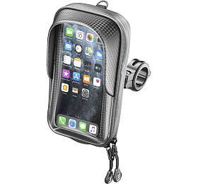 Univerzální voděodolné pouzdro na mobilní telefony Interphone Master, úchyt na řídítka, max. 5,8