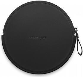 Simplehuman Sensor Compact, černé pouzdro se zipem pro kosmetická zrcátka, ST9002 - Simplehuman