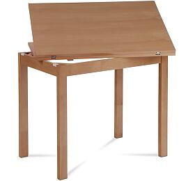 Jídelní stůl rozkládací 60+60x90 cm, buk Autronic BT-4723 BUK3 - Autronic