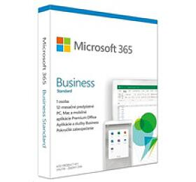 Microsoft 365 Business Standard SK (1rok) (KLQ-00476) - Microsoft
