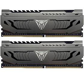 PATRIOT Viper Steel Series V4S 64GB DDR4 3600MHz / DIMM / CL18 / 1,35V / Heat Shield / KIT 2x 32GB (PVS464G360C8K) - PATRIOT
