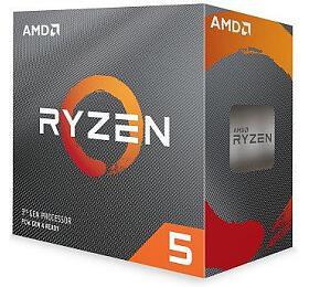 AMD Ryzen 5 6C/12T 3600 (3.6GHz,35MB,65W,AM4) box + Wraith Stealth cooler (100-100000031BOX) - AMD