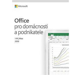MS FPP Office 2019 pro domácnosti a podnikatele CZ - bez média, P6 (nahrazuje T5D-03195) (T5D-03305) - Microsoft