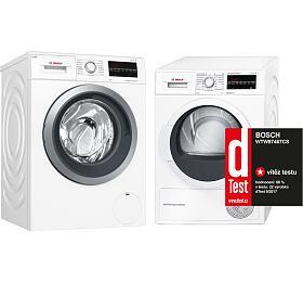 SET Pračka Bosch WAU28S60BY + Sušička Bosch WTW87467CS - Bosch
