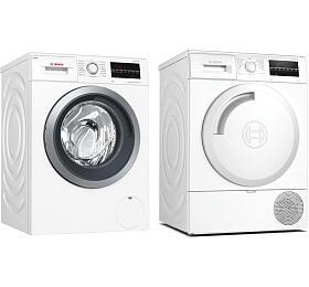 SET Pračka Bosch WAU28S60BY + Sušička Bosch WTR84TW0CS - Bosch