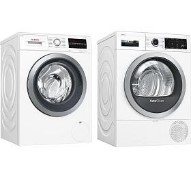SET Pračka Bosch WAU28S60BY + Sušička Bosch WTX87M90BY - Bosch