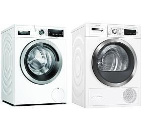 SET Pračka Bosch WAX32M40BY + Sušička Bosch WTW855H0BY - Bosch