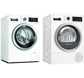 SET Pračka Bosch WAX32M40BY + Sušička Bosch WTX87M90BY - Bosch