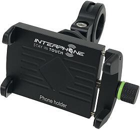 Univerzální držák Interphone CRAB Evo Alu s odolnou konstrukcí, úchyt na řídítka - Interphone