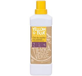 Yellow&Blue Gel do myčky na nádobí (1 l) - z mýdlových ořechů v bio kvalitě - Yellow&Blue