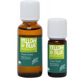 Yellow&Blue Tea tree silice (30 ml) - přírodní éterický olej - Yellow&Blue