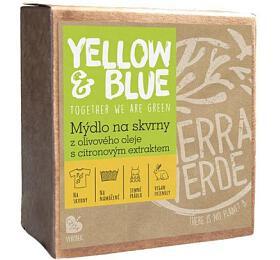 Yellow&Blue Mýdlo z olivového oleje na skvrny (200 g) - Yellow&Blue