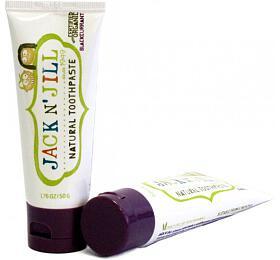 Jack n' Jill Dětská zubní pasta - černý rybíz BIO (50 g) - Jack n' Jill