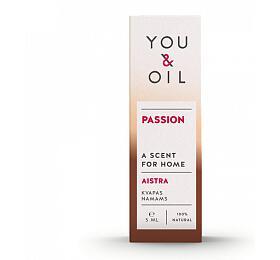You & Oil Vůně do bytu - Vášeň (5 ml) - s aromaterapeutickými účinky - You & Oil