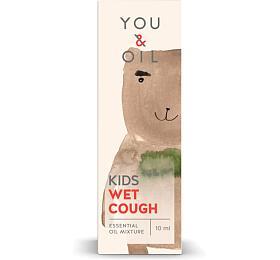 Bioaktivní směs pro děti You & Oil KIDS - Vlhký kašel (10 ml) - uleví od nepříjemného kašle - You & Oil