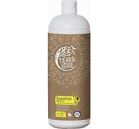 Tierra Verde Březový šampon na suché vlasy s citrónovou trávou (1 l) - Tierra Verde