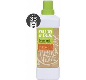 Yellow&Blue Prací gel s pomerančem (1 l) - z bio mýdlových ořechů - Yellow&Blue (Tierra Verde)