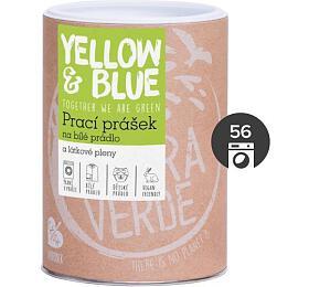 Yellow&Blue Prací prášek na bílé prádlo a látkové pleny - INOVACE (dóza 850 g) - Yellow&Blue