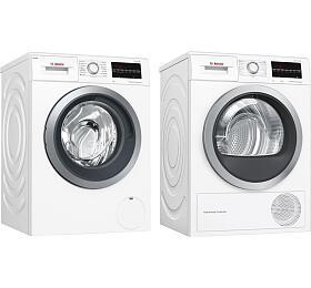 SET Pračka Bosch WAU28S60BY + Sušička Bosch WTW85461BY - Bosch