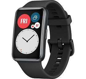 Chytré hodinky Huawei Watch Fit Black (55025875) - HUAWEI