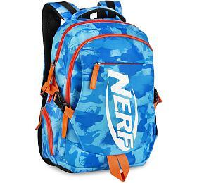 Batoh školní Easy Spokey HASBRO BRONCO sportovní, zn. NERF, modro-oranžový - EASY