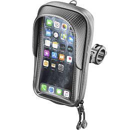 Univerzální voděodolné pouzdro na mobilní telefony Interphone Master Pro, úchyt na řídítka, max. 6,7