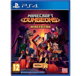 Hra pro PS4 CENEGA MINECRAFT DUNGEONS - HERO - Cenega