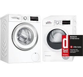 SET Pračka Bosch WAU28T62BY + Sušička Bosch WTW87467CS - Bosch
