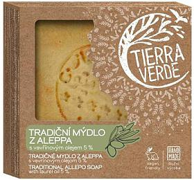 Tierra Verde Aleppské mýdlo pro problematickou pokožku (190 g) - Tierra Verde